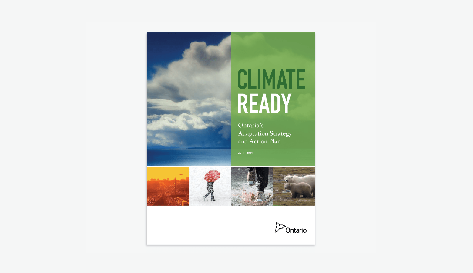 Ontario Ministry of Environment's Climate Change Adaptation Strategy & Action Plan